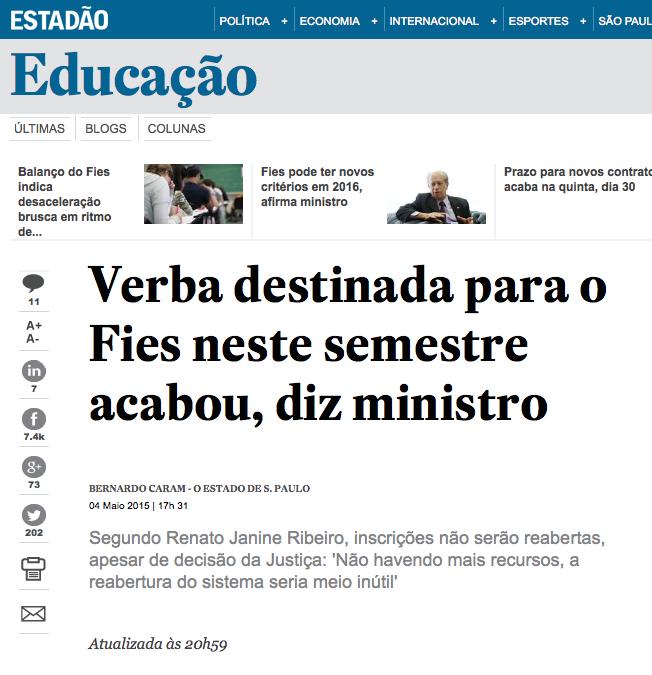 Verba_destinada_para_o_Fies_neste_semestre_acabou,_diz_ministro_-_Educação_-_Estadão_-_2015-05-05_02.11.38