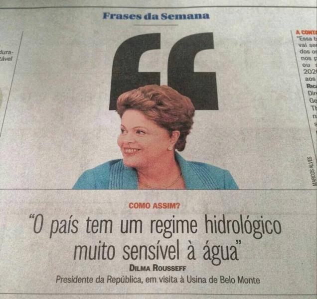 Hidrologia da Dilma