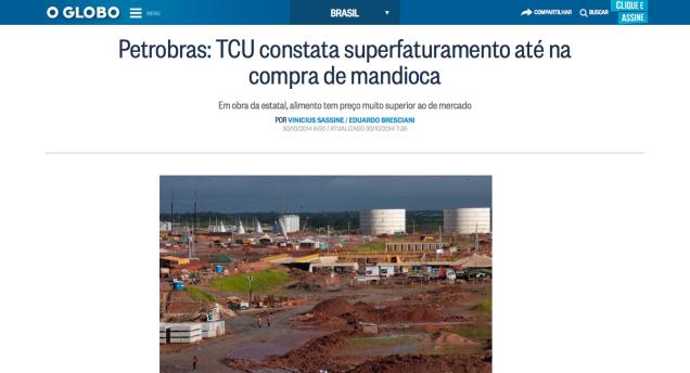 Petrobras_TCU_constata_superfaturamento_até_na_compra_de_mandioca_-_Jornal_O_Globo_-_2015-07-04_03.01.12