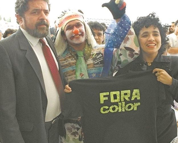 Em 1992, Lula e todas as lideranças do PT estavam na linha de frente das convocações pedindo o impeachment de Fernando Collor