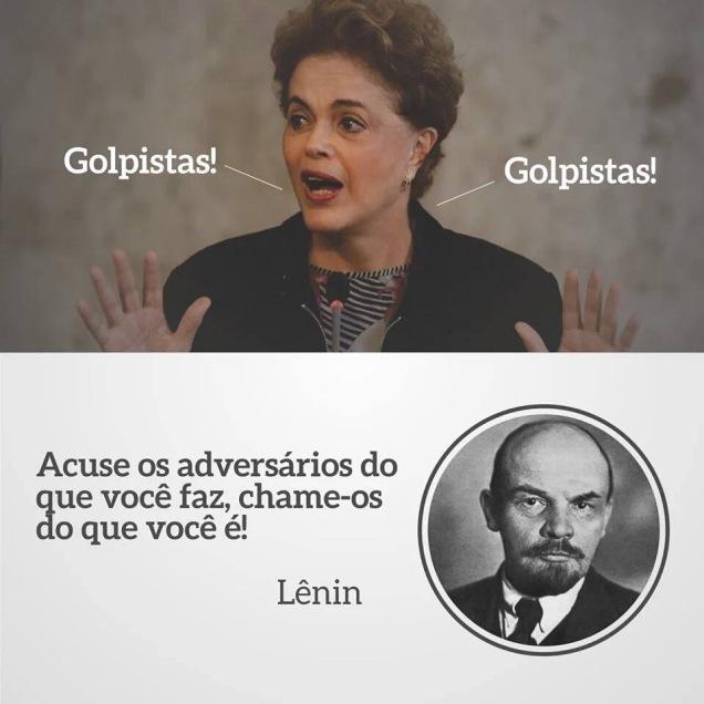 Dilma e Lênin